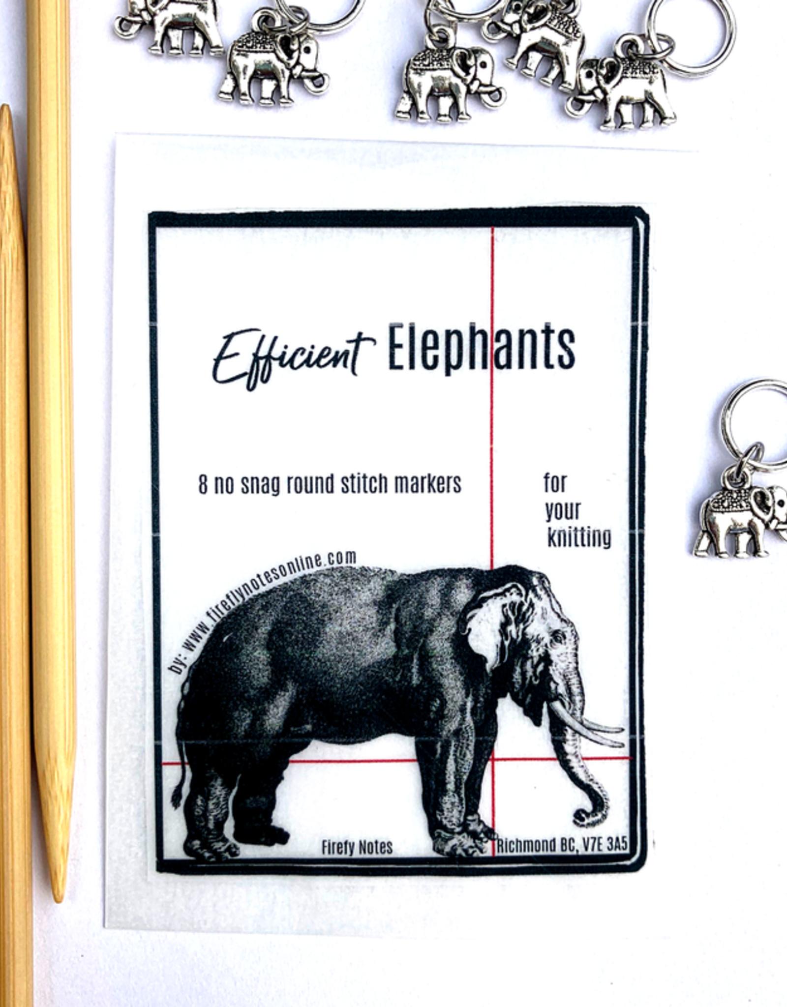 Firefly Notes - Efficient Elephants