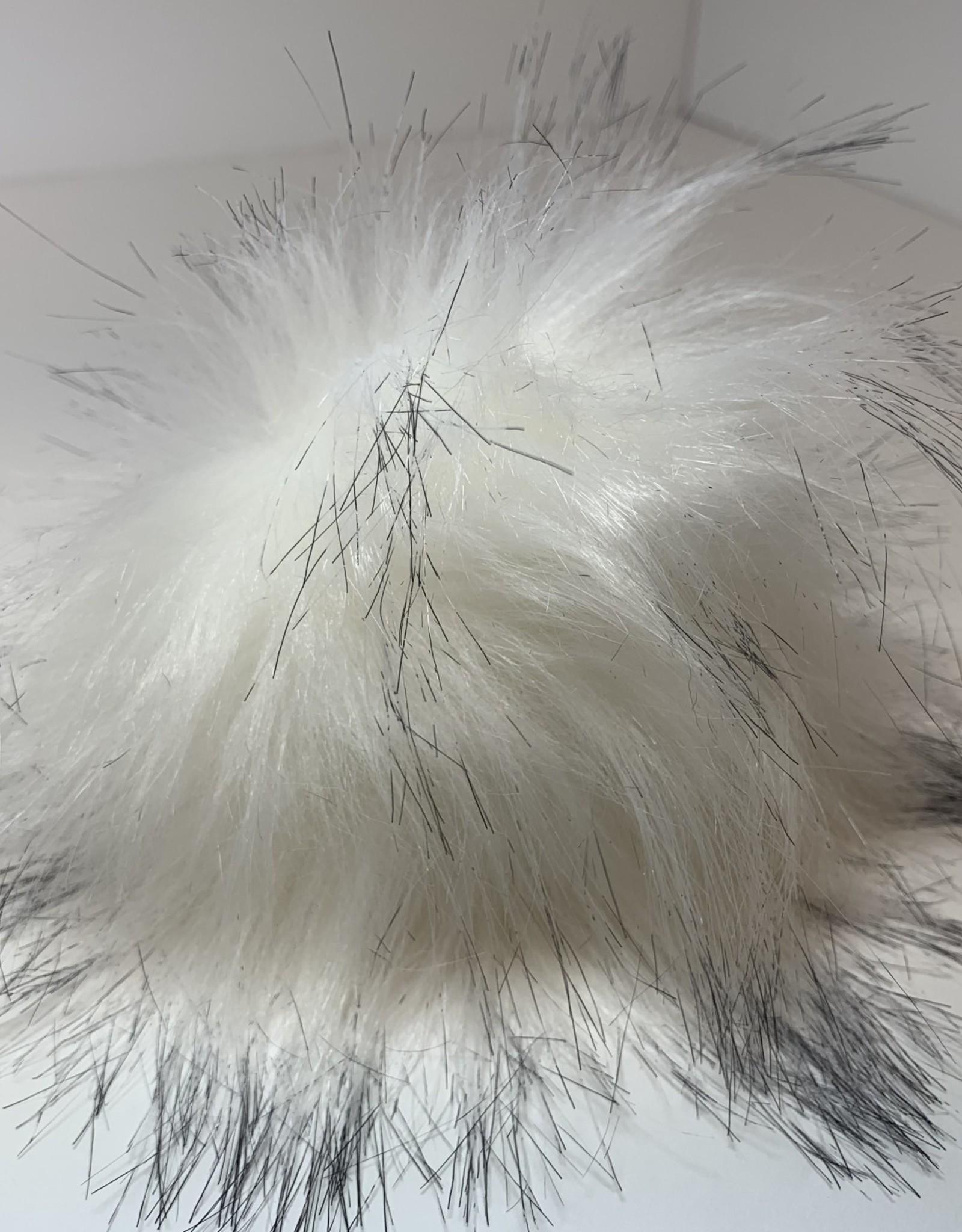 Estelle Pom Poms - Snap On - White/Black