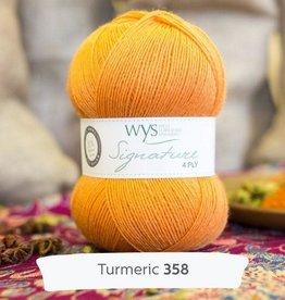 WYS WYS Signature 4 Ply Solids - Tumeric 358