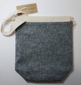GinGin Handmade - Small - Black Denim