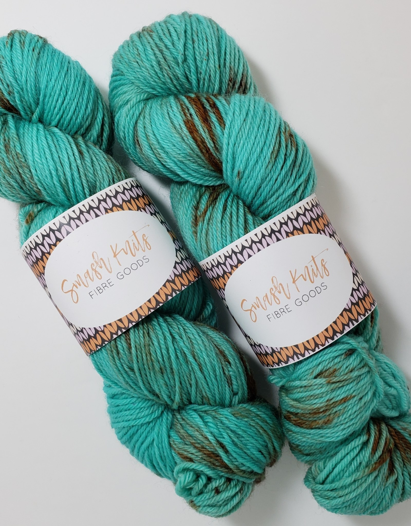 Smash Knits Smash Knits - Merino Nylon DK - Tarnished Turquoise