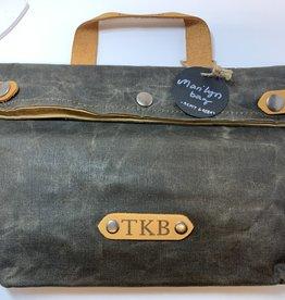 The Knitting Barber TKB Marilyn Bag - Army Green