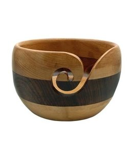 Estelle Wooden Yarn Bowl - Beech and Acacia