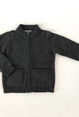 Baby CZ Baby CZ Cashmere Full Zip Sweater