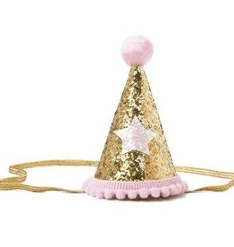 "Henny and Coco Henny and Coco Pink ""Party Hat"""