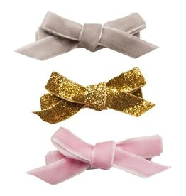 Henny and Coco Henny and Coco Vivenne - Set of 3 - Grey, Gold Glitter and Light Pink