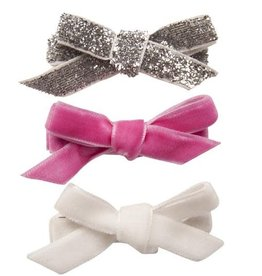 Henny and Coco Henny and Coco Vivenne - Set of 3 - Silver Glitter, Pink & White