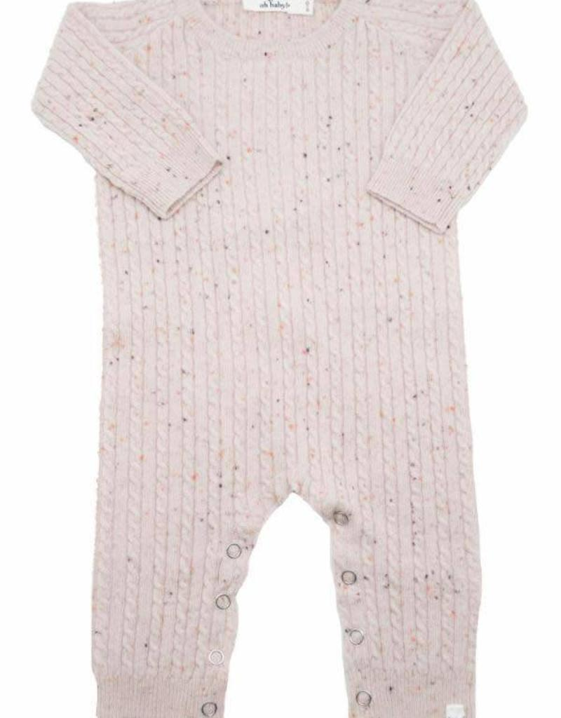 d2c5429e2 Oh Baby! Cable Knit Romper - Skipper & Scout
