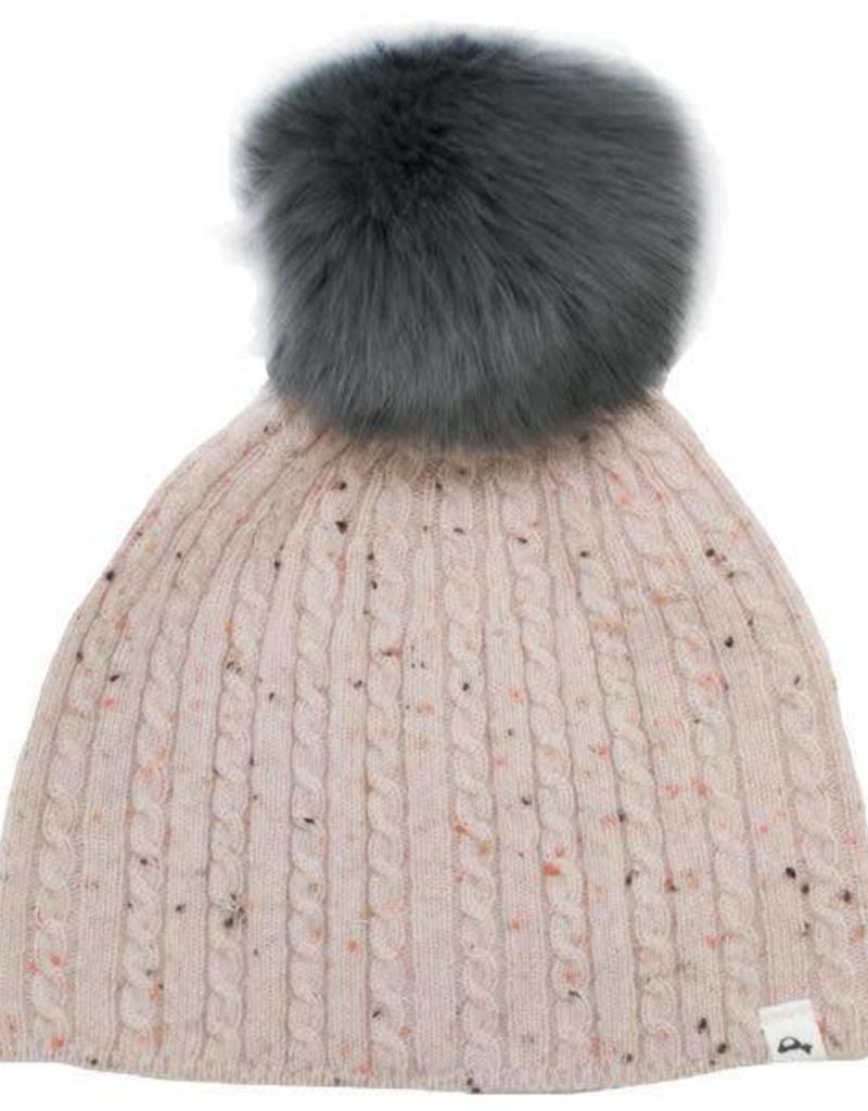 Oh Baby! Oh Baby! Cable Knit Pom Hat