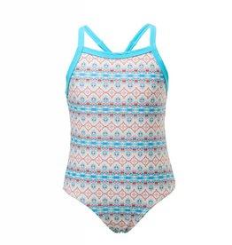Snapperrock Snapper Rock Marrakesh X Back Tie Swimsuit