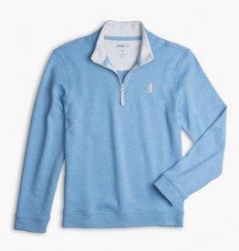 Johnnie-O Johnnie-O Watson 1/4 Zip Pullover Laguna Blue