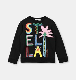 Stella McCartney Stella Mccartney Girls Multicolor Stella Long Sleeve Tee