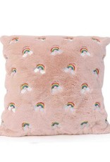 OMG Fluffy Faux Fur Pillow