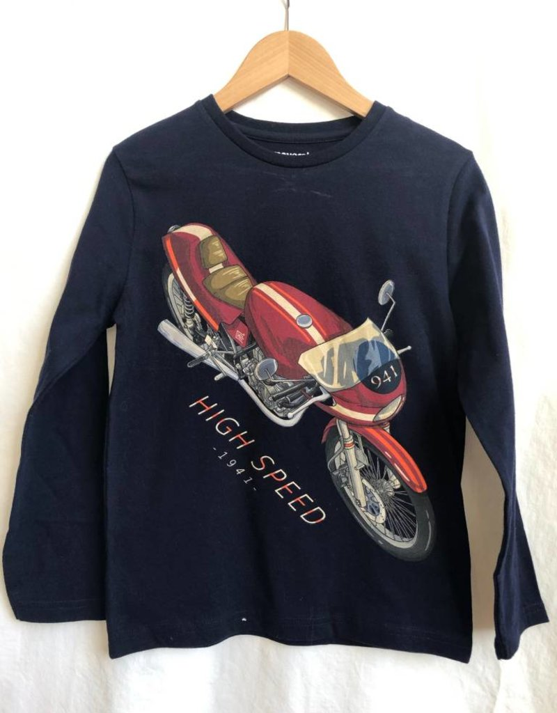 """Mayoral Mayoral L/s """"High Speed"""" T-Shirt Orion"""