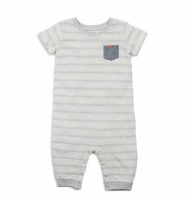 Egg by Susan Lazar Egg Baby Boy's Brody Romper