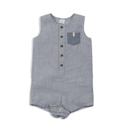 Egg by Susan Lazar Egg Boy's Tanner Romper