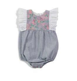Egg by Susan Lazar Egg Baby Girl's Briella Romper