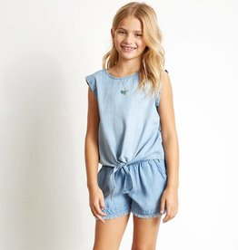 Bella Dahl Bella Dahl Girl's Fray Hem Shorts