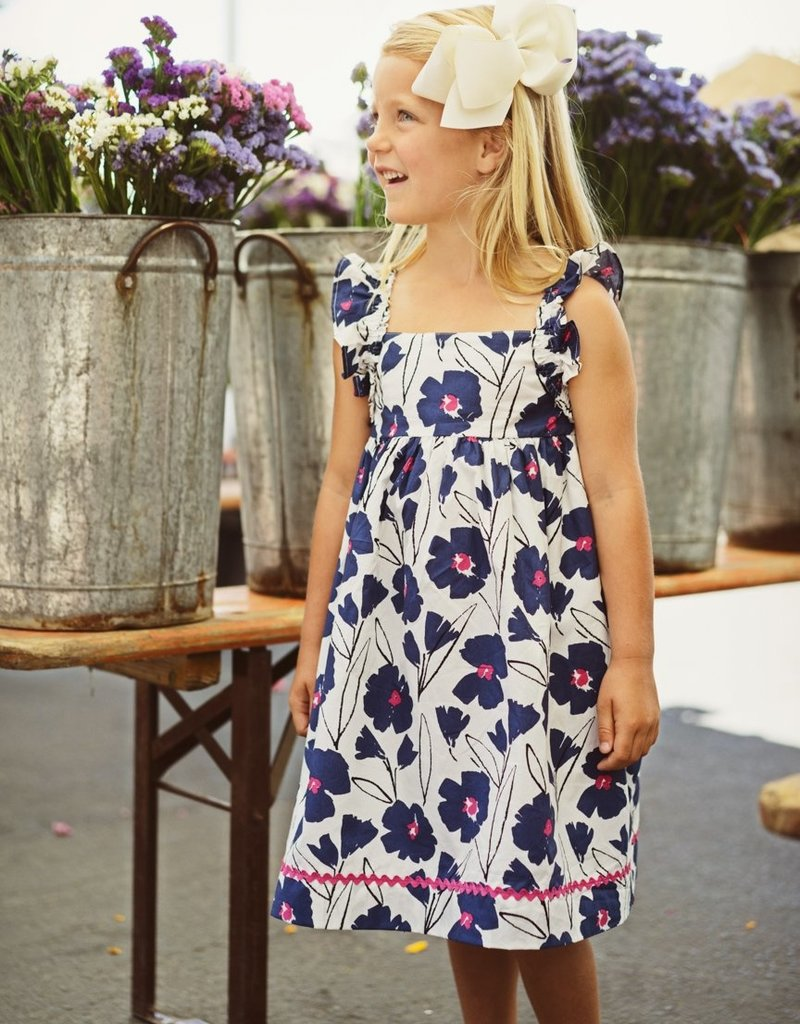 Busy Bees Busy Bees Sawyer Ruffle Wing Dress