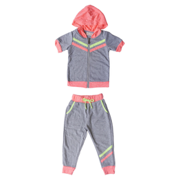 Miki Miette Miki Miette Girl's Sweatshirt & Jogger Set *MORE COLORS*
