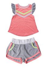 Miki Miette Miki Miette Top and Shorts Set