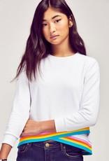 me.n.u Menu Sweatshirt with Athletic Cris Cross Bottom