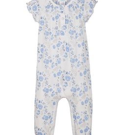 Feather Baby Feather Baby Ruched Romper Short Sleeve