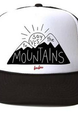 Bubu Bubu Trucker Hat: Say Yes to the Mtns