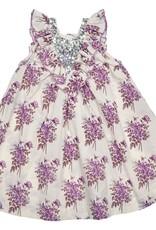 Pink Chicken Pink Chicken Marly Dress- Lavender Floral