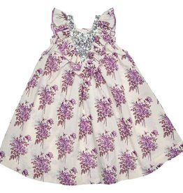 Pink Chicken Pink Chicken Marly Dress- Lavender Floral