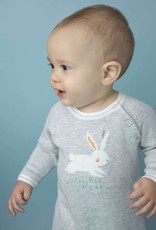 Angel Dear Angel Dear Bunny Intarsia Knit Coverall
