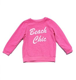 Sol Angeles Sol Angeles Beach Chic Pullover Pink