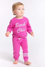 Sol Angeles Sol Angeles Baby Beach Chic Pullover Pink