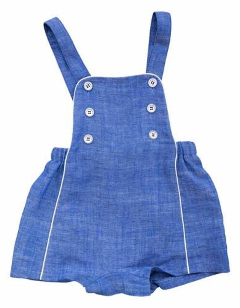 Busy Bees Busy Bees Baby Boy Judson Romper