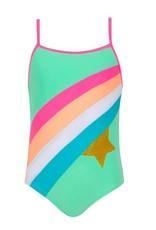 Sunuva Sunuva Girls Rainbow Star Swimsuit