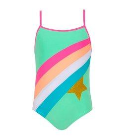 dbf86add6a Sunuva Sunuva Girls Rainbow Star Swimsuit