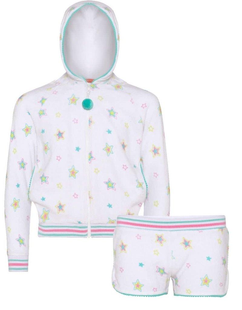 Sunuva Sunuva Girls Rainbow Star Towelling Set