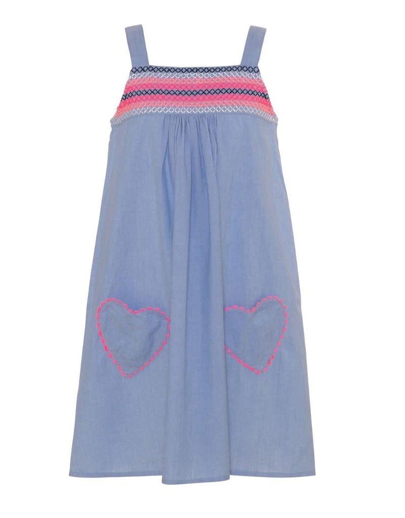 Sunuva Sunuva Girls Smocked Top Dress