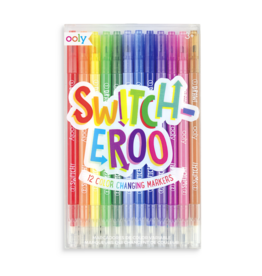 Ooly (Int Arrivals) Ooly Switcheroo Color Changing Markers - Set of 12