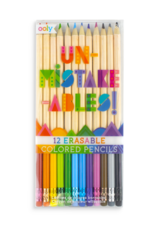 Ooly (Int Arrivals) Ooly Un-Mistake-Ables Color Pencils