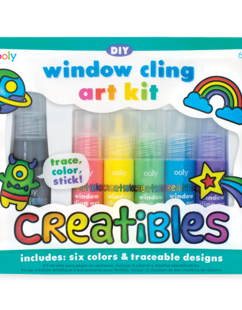 Ooly (Int Arrivals) Ooly Creatibles DIY Window Cling Art kit