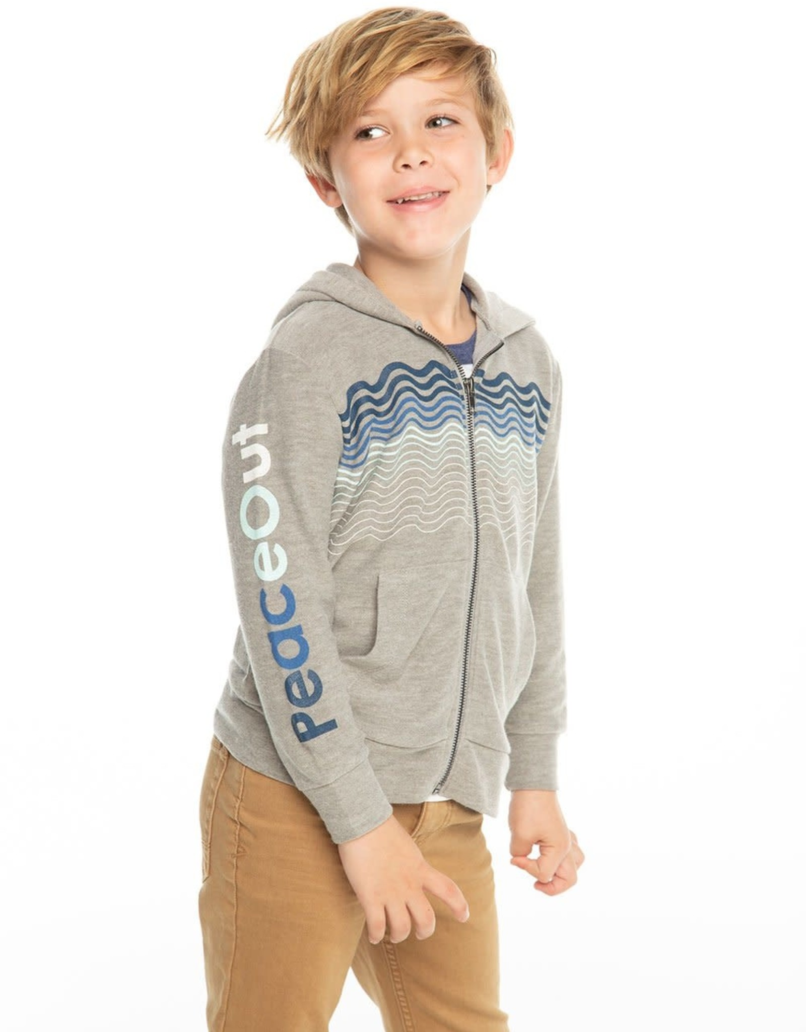 Chaser Chaser Boys Cozy Knit Peace Out Hoodie