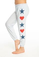Chaser Chaser Girls Americana Stars Sweatpant