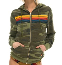 Aviator Nation Aviator Nation Adult 5-Stripe Stitch Hoodie