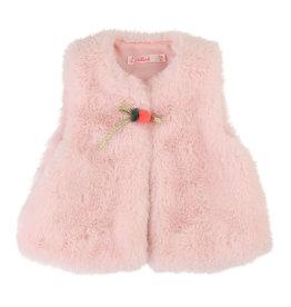 Billieblush Billieblush Faux Fur Vest w Details