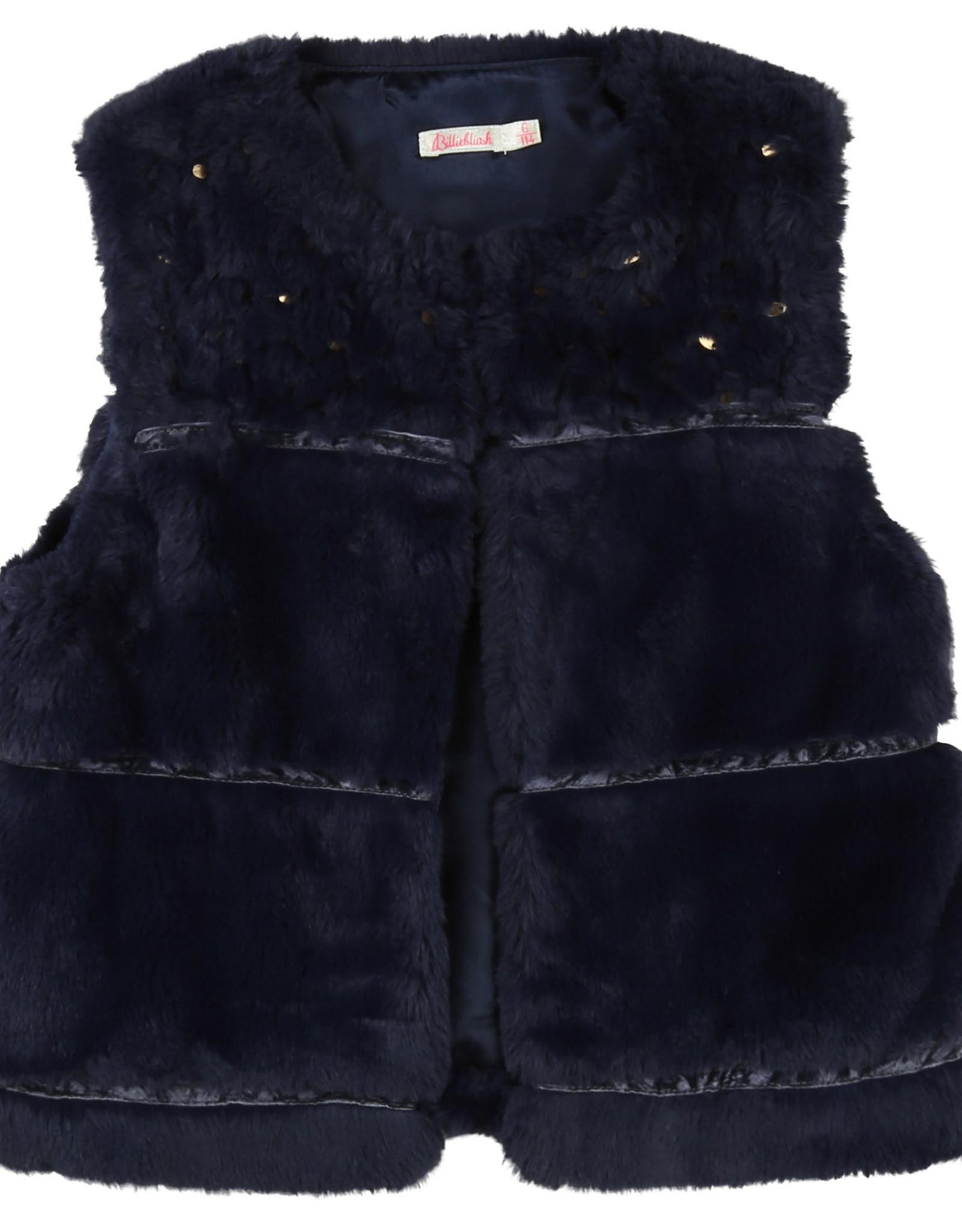 Billieblush Billieblush Faux Fur Vest