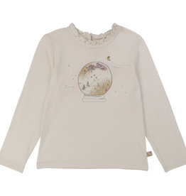 Billieblush Billieblush  Ceremony L/S Top w/ Frill Collar