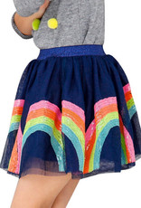 Lola & The Boys Lola and the Boys Rainbow Sequin Tutu