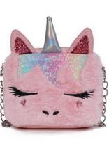 OMG Accessories OMG Unicorn Critter Crossbody Bag