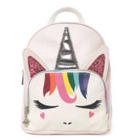 OMG Accessories OMG Rainbow Unicorn Mini Backpack